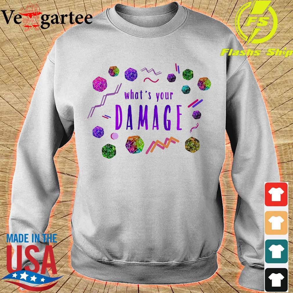 What's your Damage s sweater