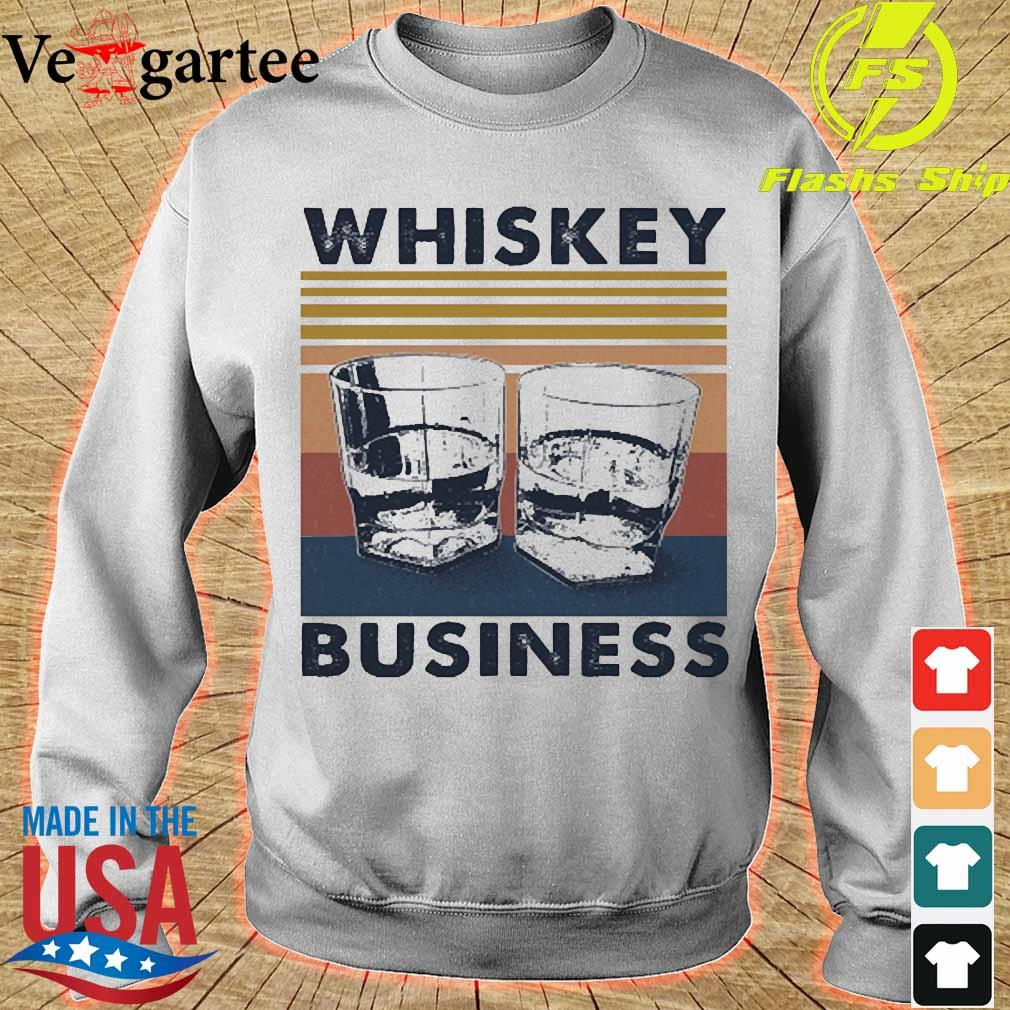 Whiskey business vintage Shirt sweater
