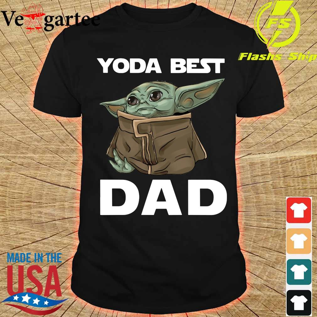 Yoda Best Dad Shirt
