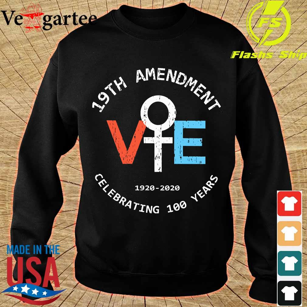 19th Amendment Vote 1920 2020 celebrating 100 Years s sweater