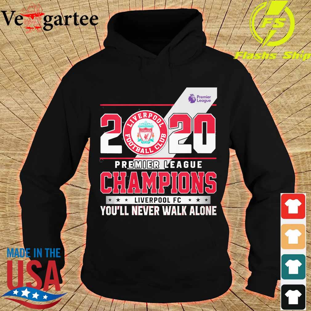 2020 Premier league champions Liverpool FC You'll never walk alone s hoodie