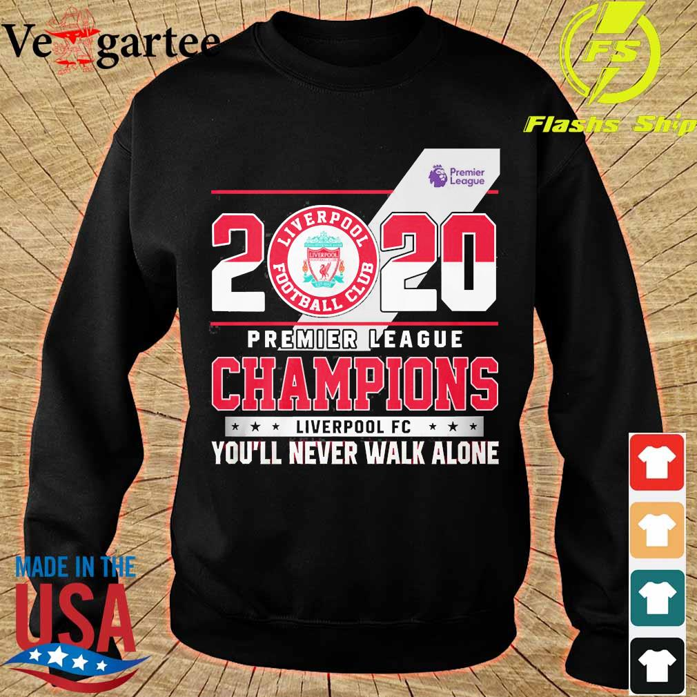 2020 Premier league champions Liverpool FC You'll never walk alone s sweater