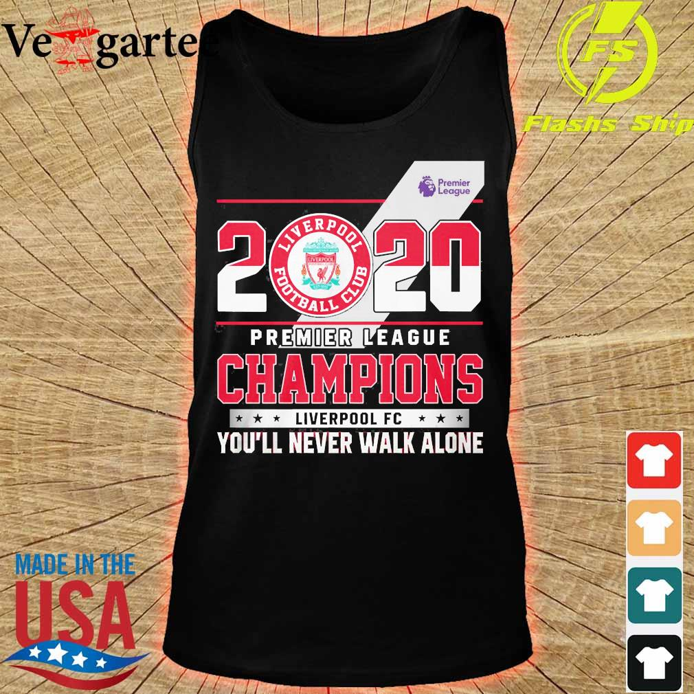 2020 Premier league champions Liverpool FC You'll never walk alone s tank top