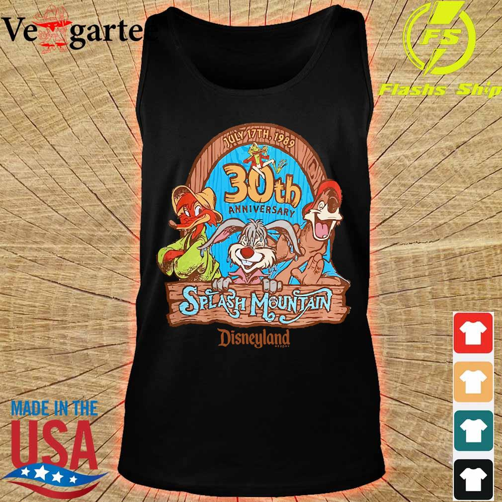 30th anniversary Splash Mountain disneyland s tank top