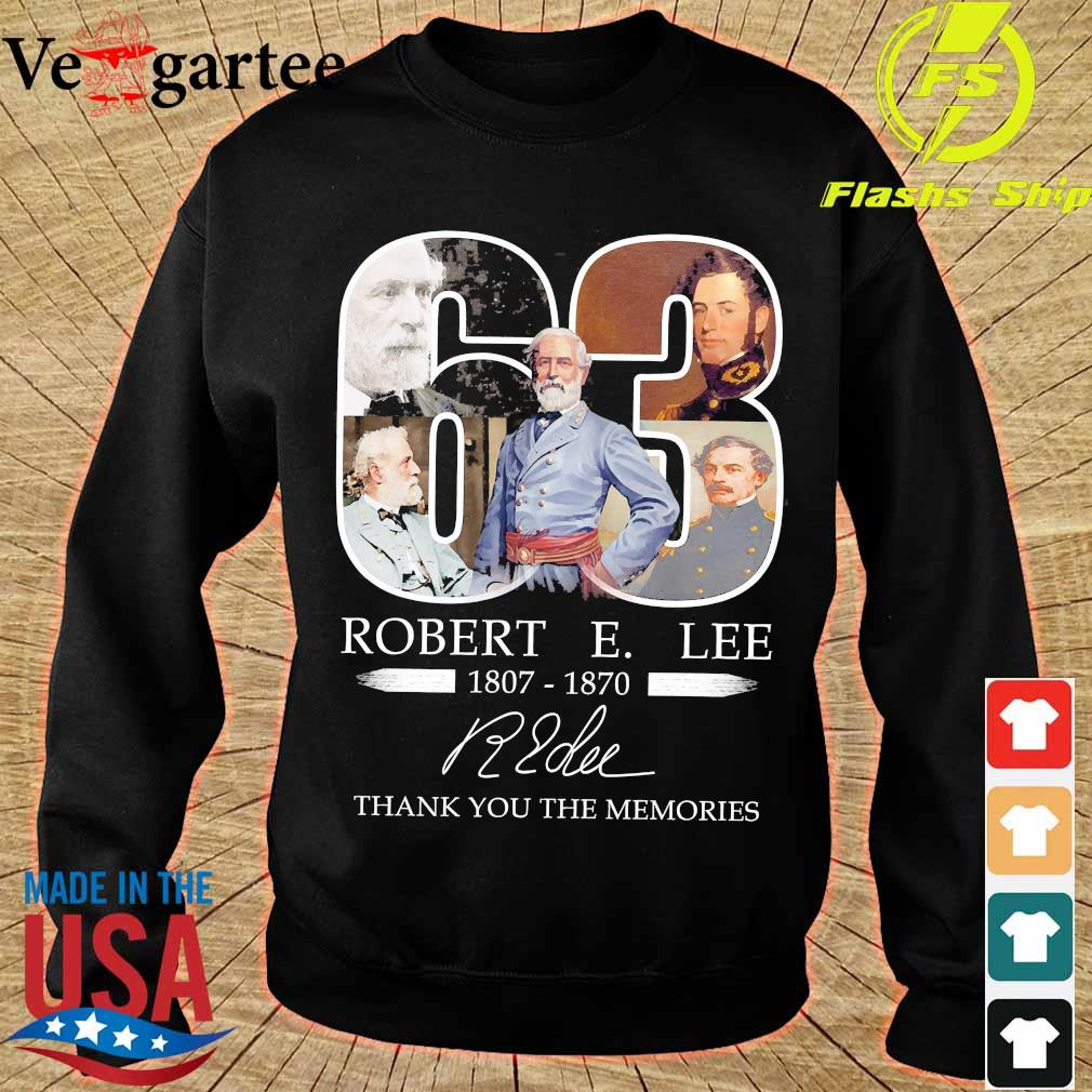 63 Robert E. Lee 1807 1870 thank You for the Memories signature s sweater