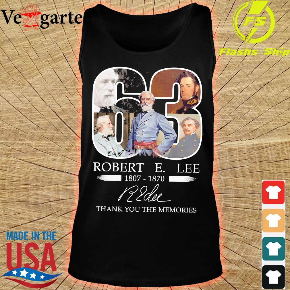 63 Robert E. Lee 1807 1870 thank You for the Memories signature s tank top
