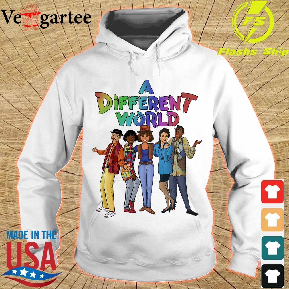 A different world s hoodie