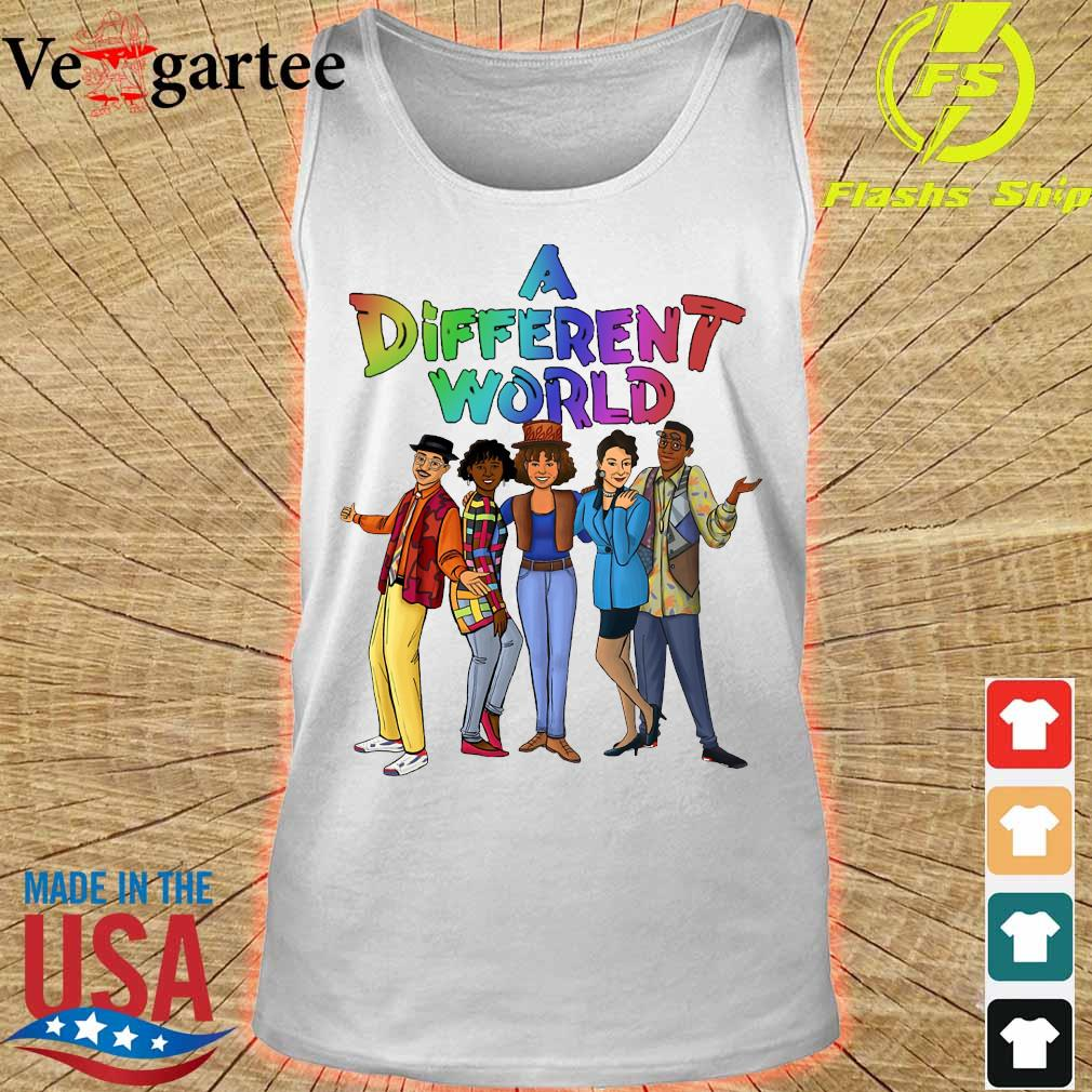 A different world s tank top