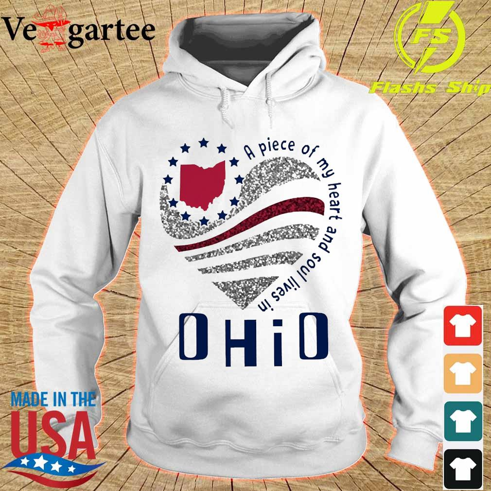 A piece of my heart and soul lives in Ohio s hoodie