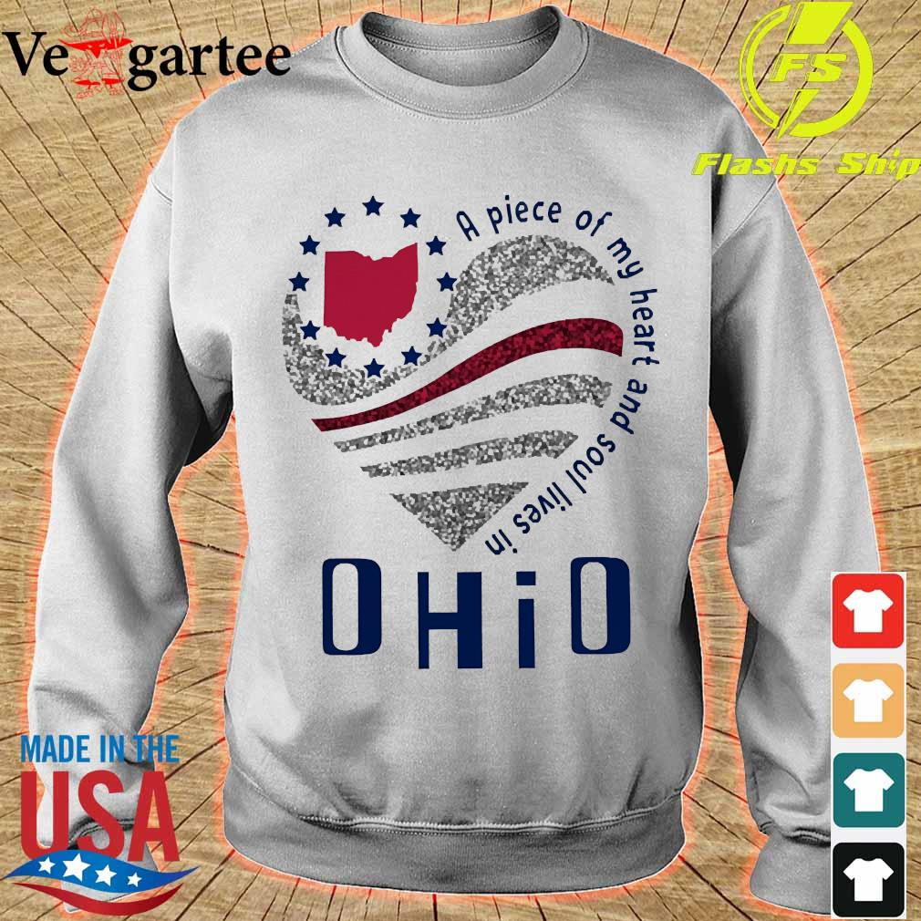 A piece of my heart and soul lives in Ohio s sweater