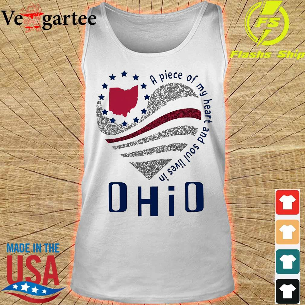 A piece of my heart and soul lives in Ohio s tank top