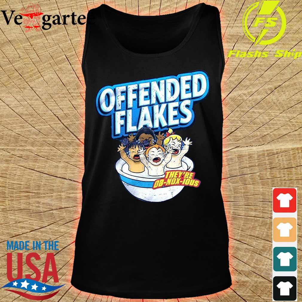 America_s offended flakes s tank top