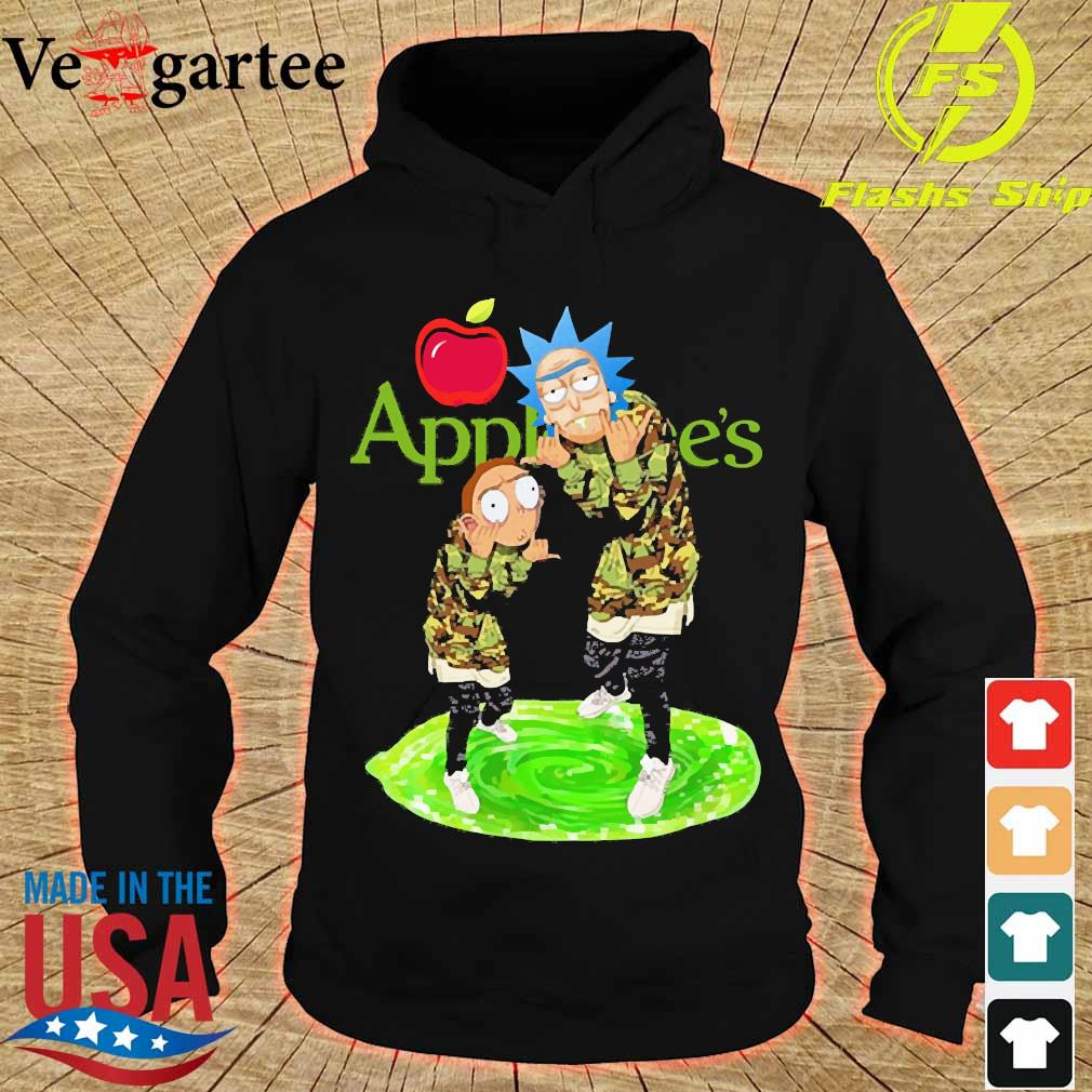 Applebee's Rick and Morty s hoodie