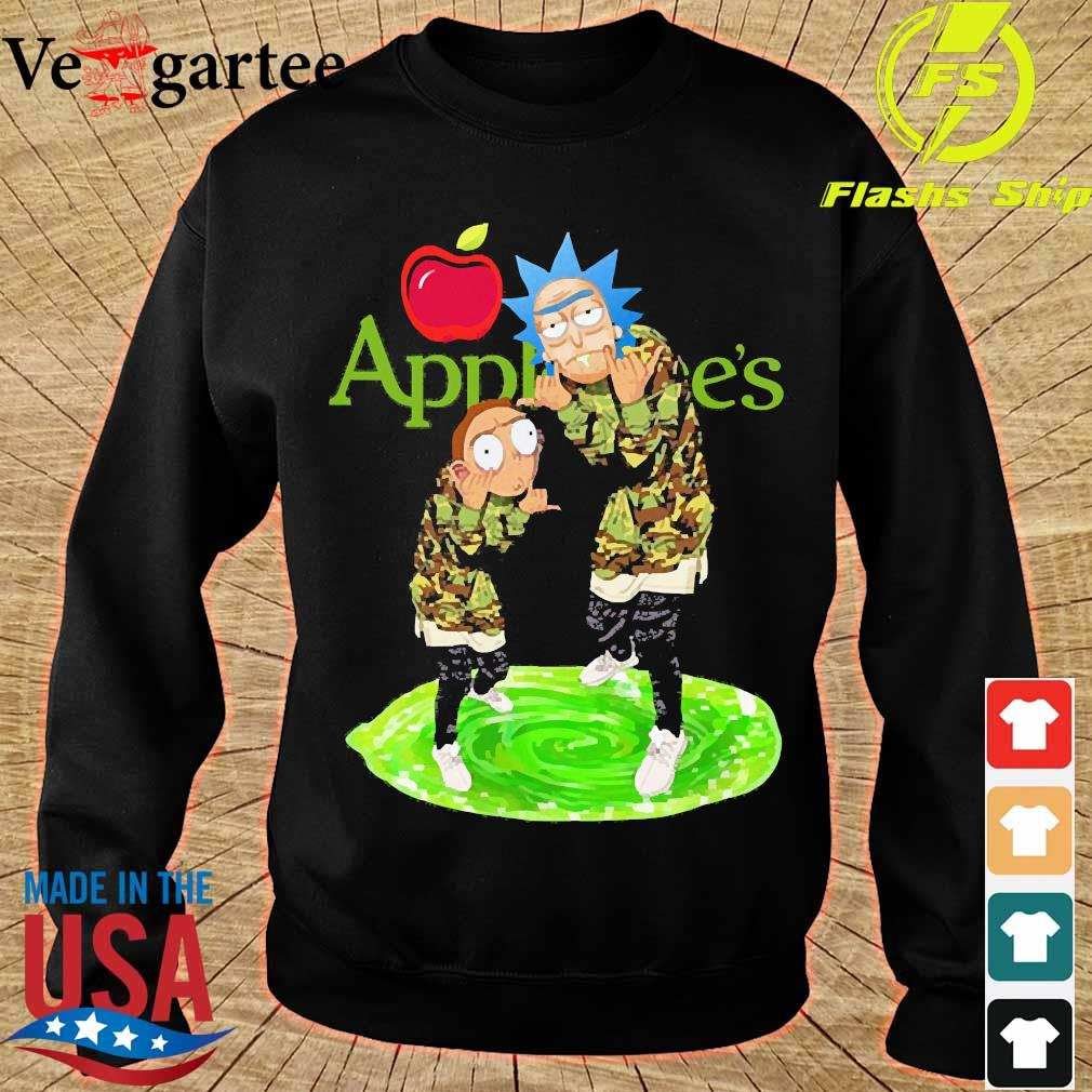 Applebee's Rick and Morty s sweater