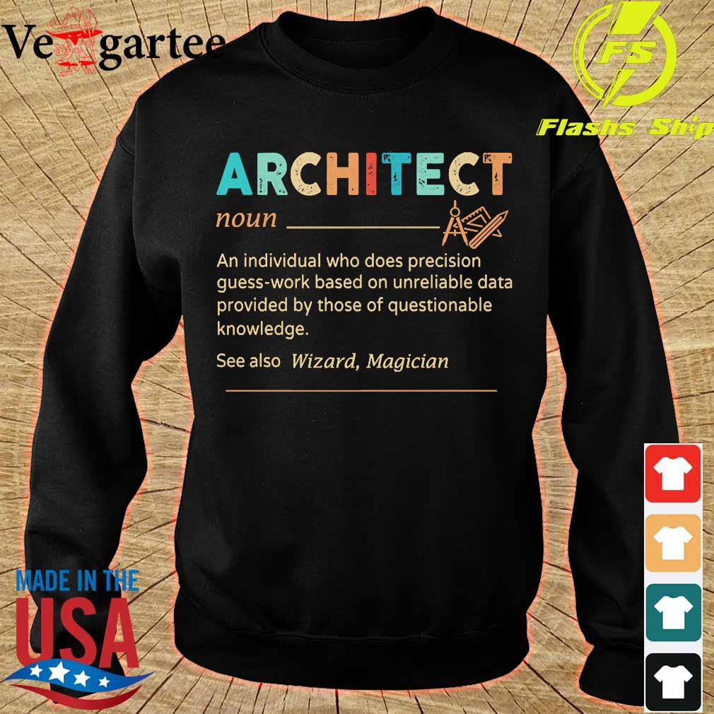 Architect definition s sweater