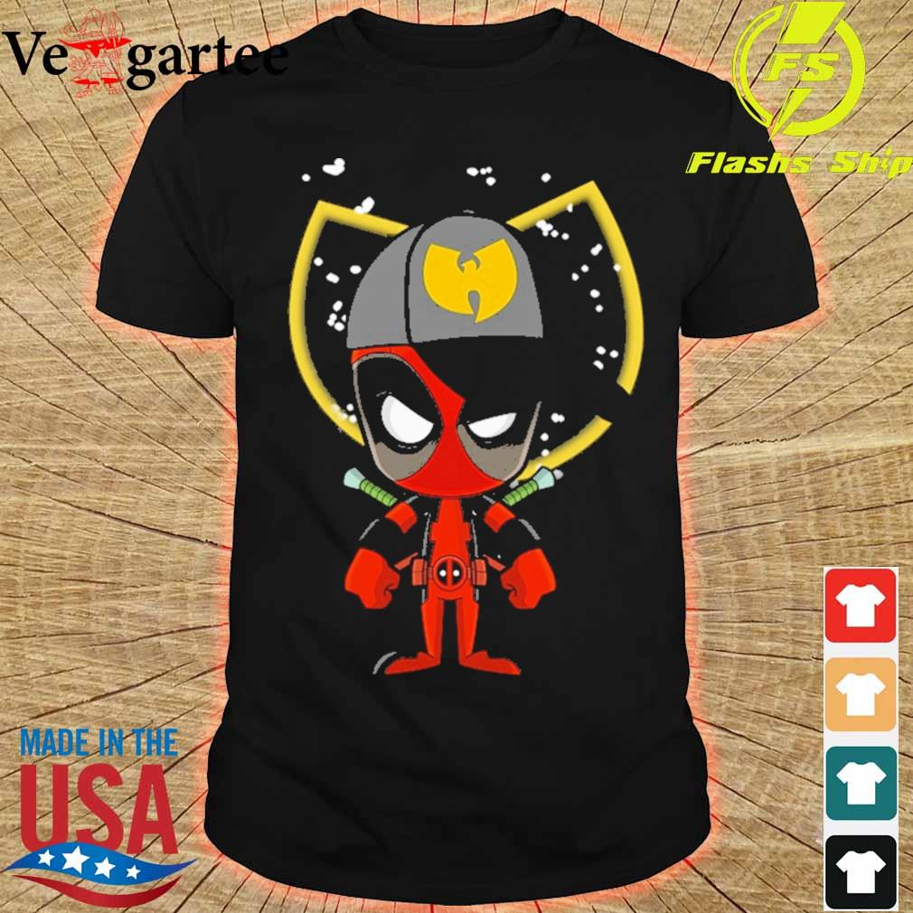 Baby Deadpool wu tang shirt