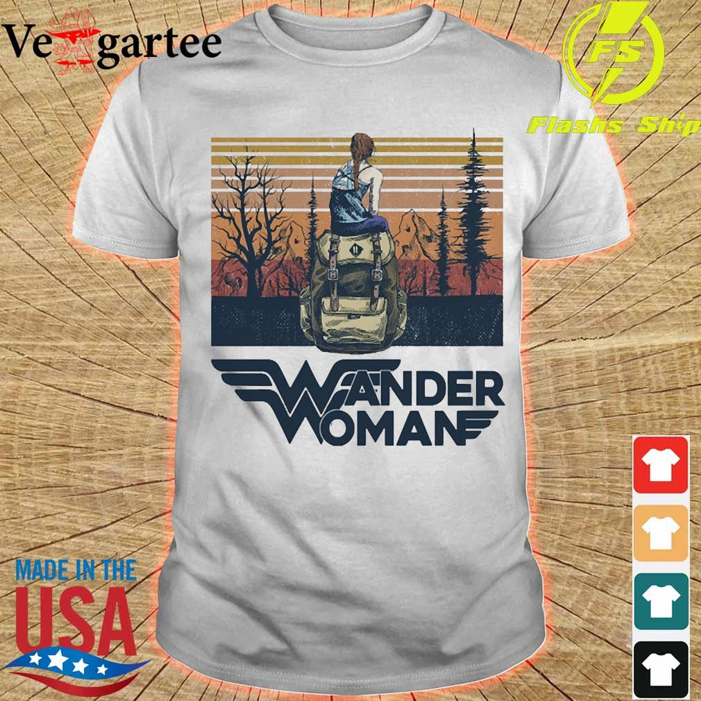 Bag Wonder Woman vintage shirt