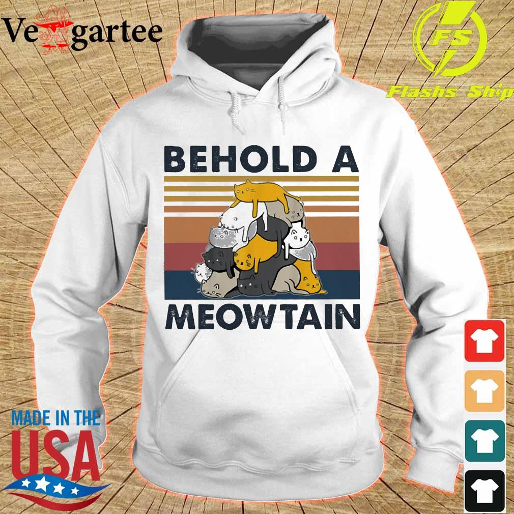 Behold a Meowtain vintage s hoodie