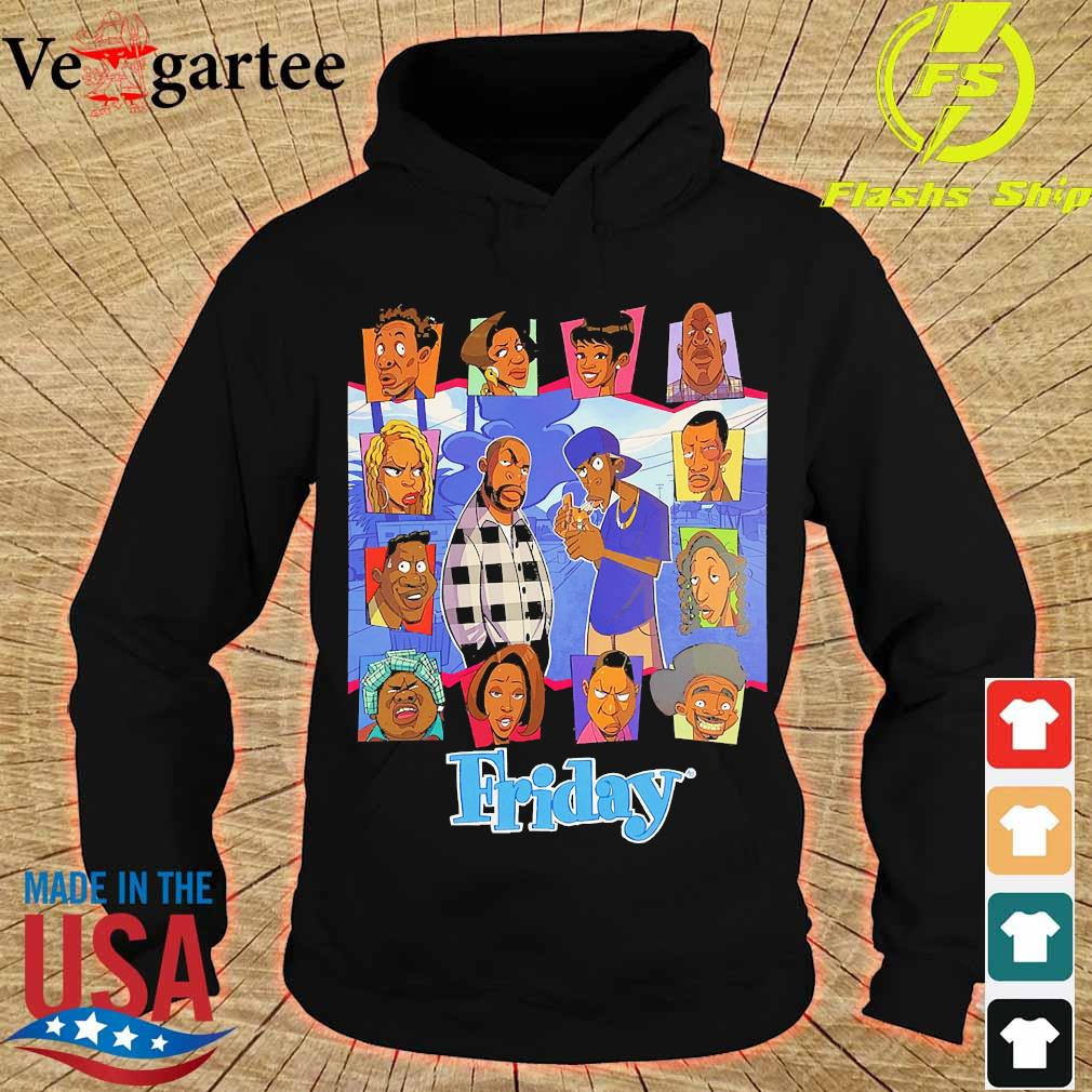 Black lives matter Friday The Animated Series s hoodie
