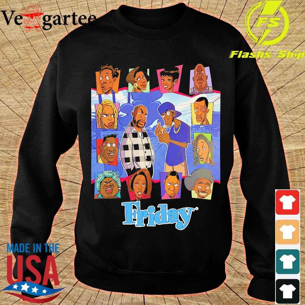 Black lives matter Friday The Animated Series s sweater