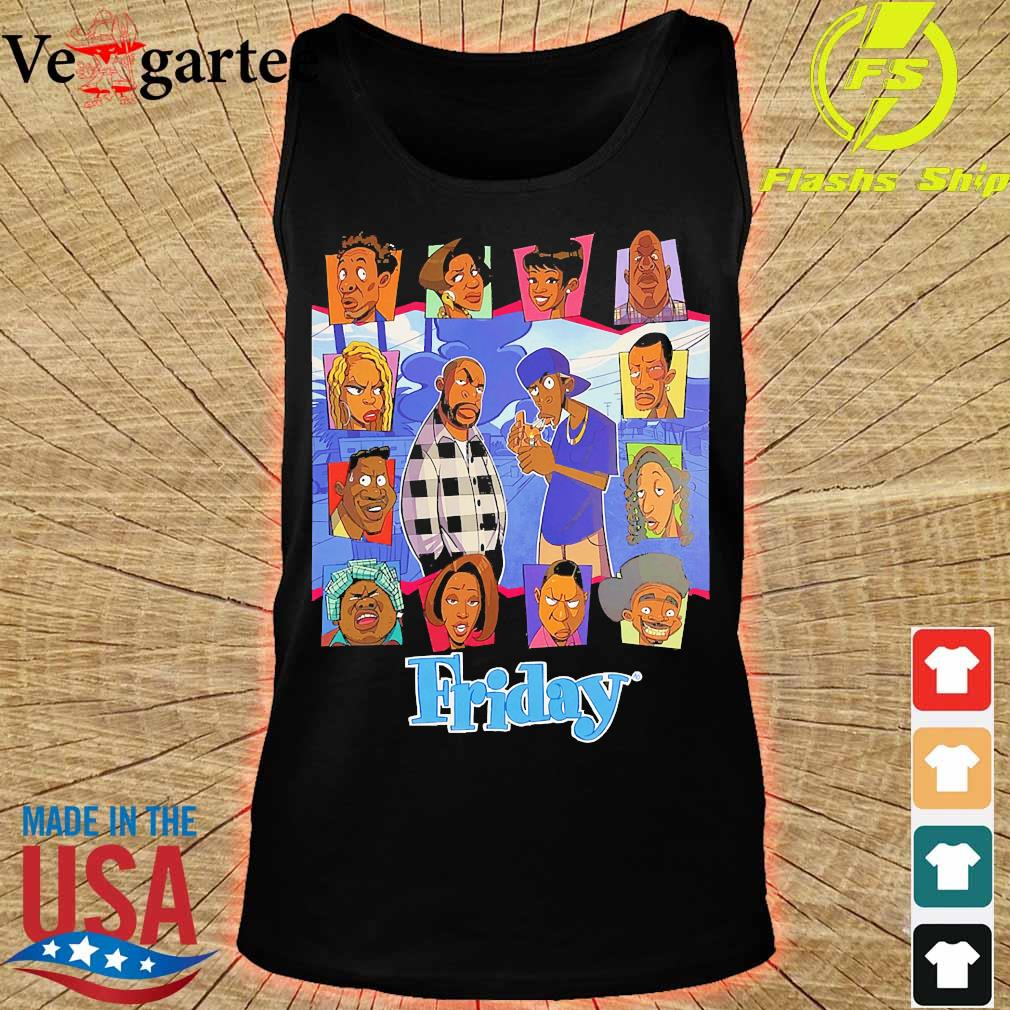 Black lives matter Friday The Animated Series s tank top