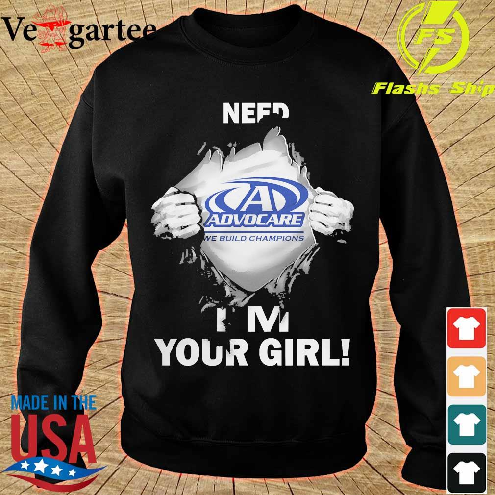 Blood inside me Advocare need i'm your girl s sweater