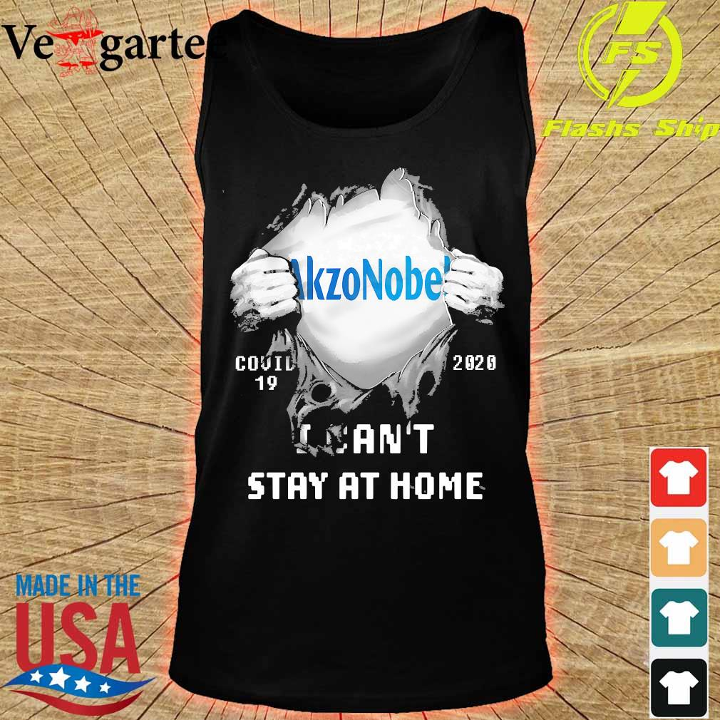 Blood inside me Akzonobel covid-19 2020 I can't stay at home s tank top