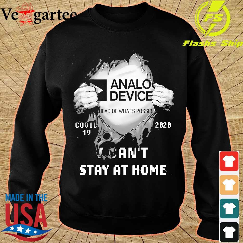 Blood inside me Analog Device covid-19 2020 I can't stay at home s sweater
