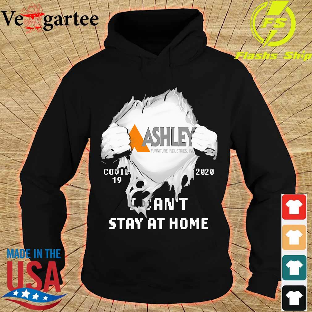 Blood inside me Ashley covid-19 2020 I can't stay at home s hoodie