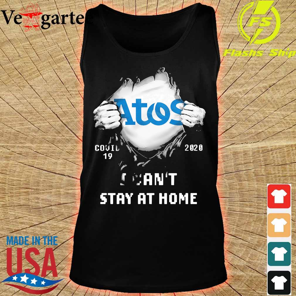 Blood inside me Atos covid-19 2020 I can't stay at home s tank top