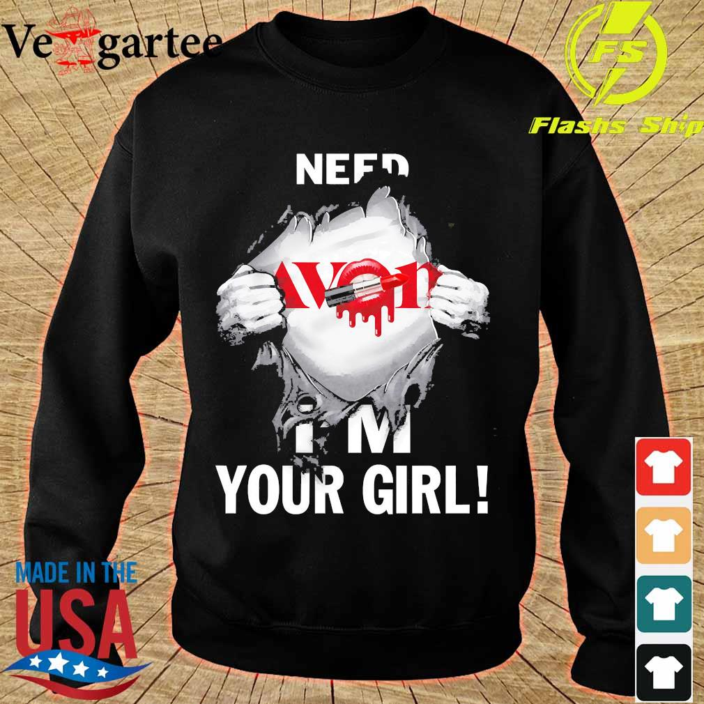 Blood inside me Avon need I'm your girl s sweater