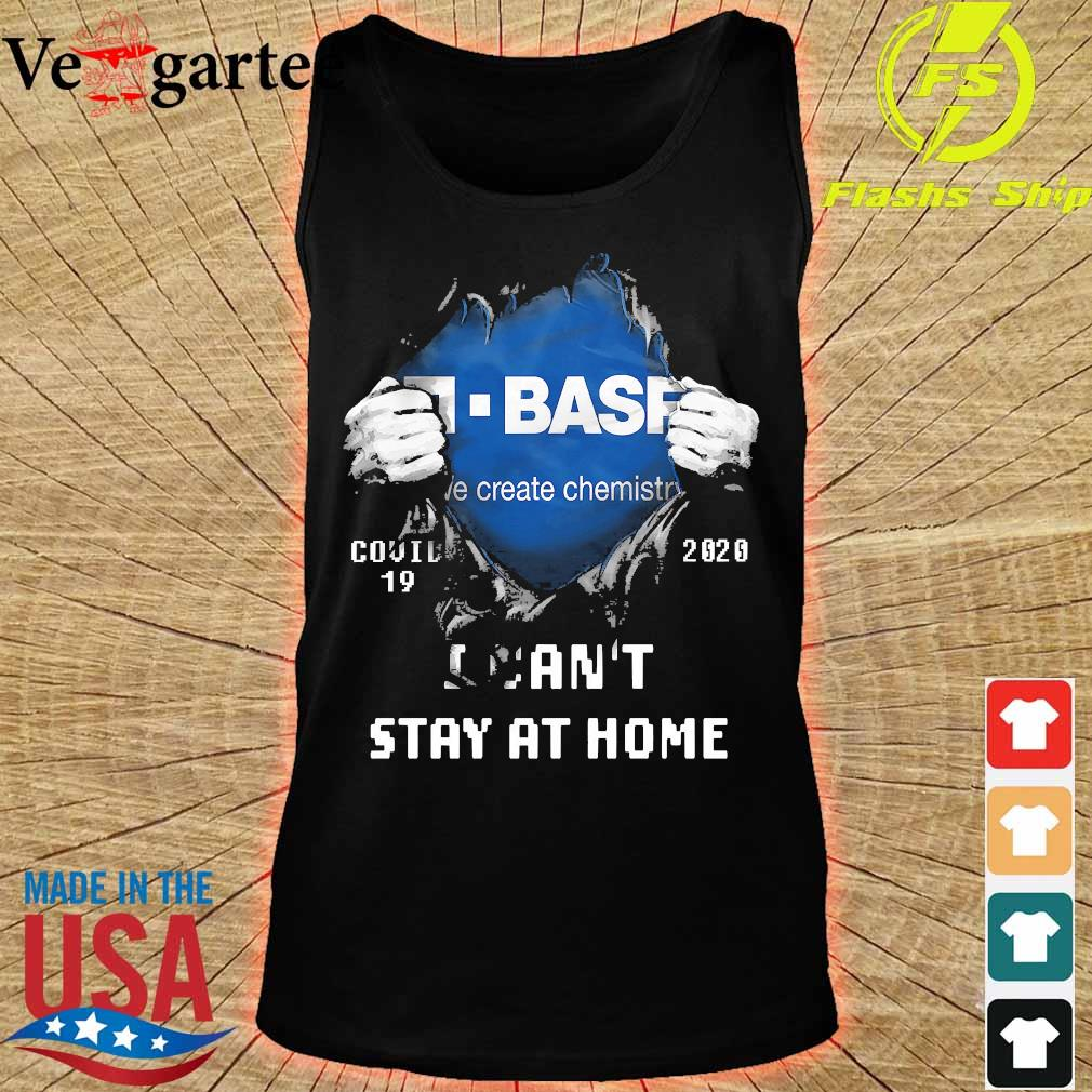 Blood inside me Basf covid-19 2020 I can't stay at home s tank top