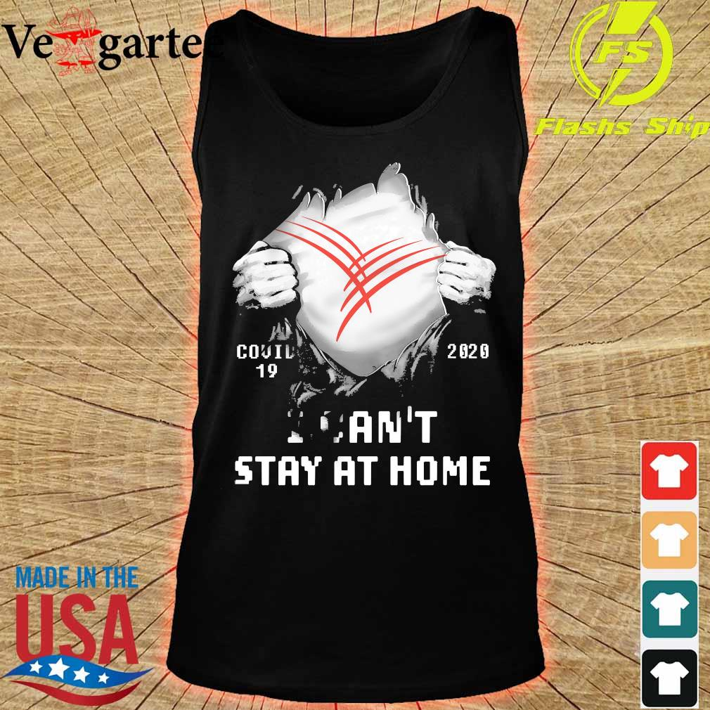 Blood inside me Cardinal Health covid-19 2020 I can't stay at home s tank top