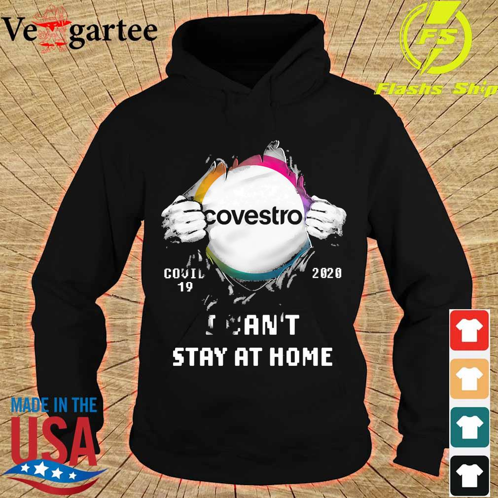 Blood inside me Covestro covid-19 2020 I can't stay at home s hoodie