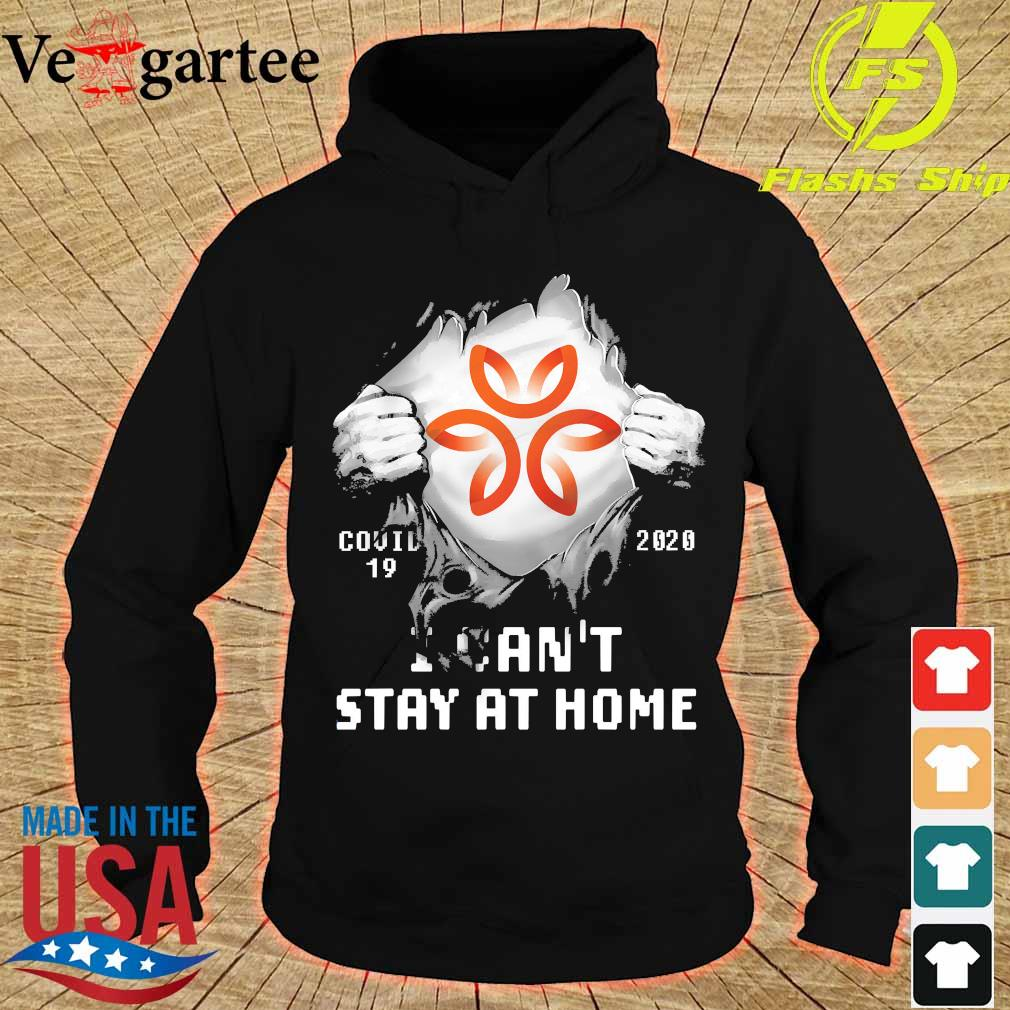 Blood inside me Dignity Health - St. Rose Dominican covid-19 2020 I can't stay at home s hoodie