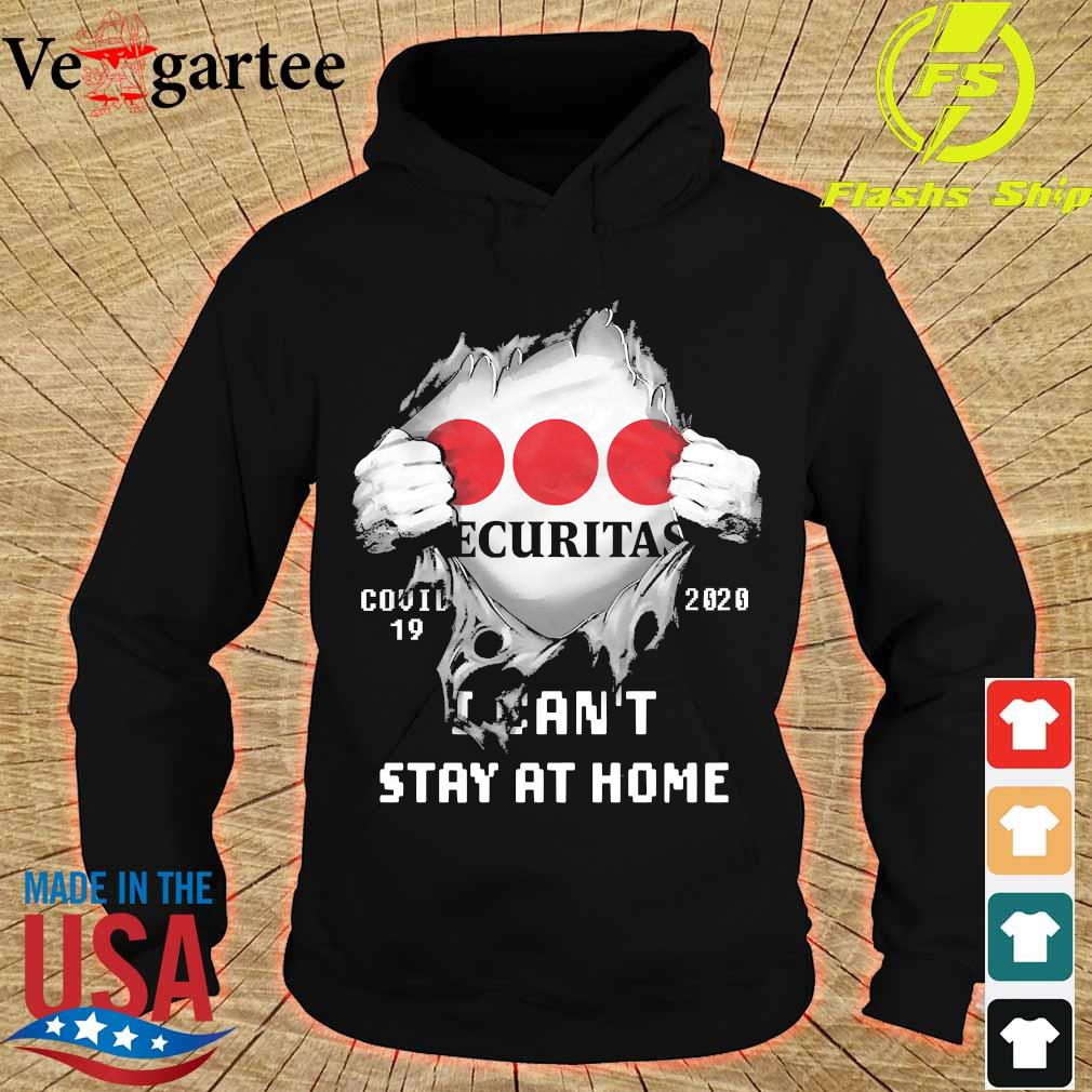 Blood inside me Ecuritas covid-19 2020 I can't stay at home s hoodie