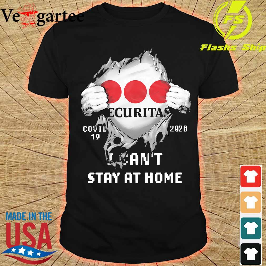 Blood inside me Ecuritas covid-19 2020 I can't stay at home shirt