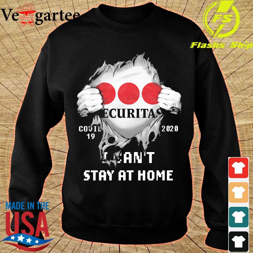 Blood inside me Ecuritas covid-19 2020 I can't stay at home s sweater