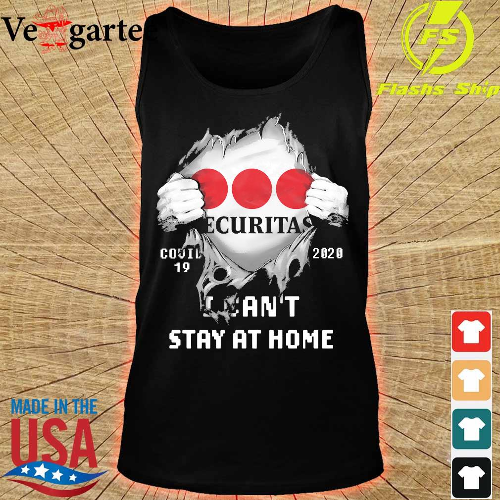 Blood inside me Ecuritas covid-19 2020 I can't stay at home s tank top