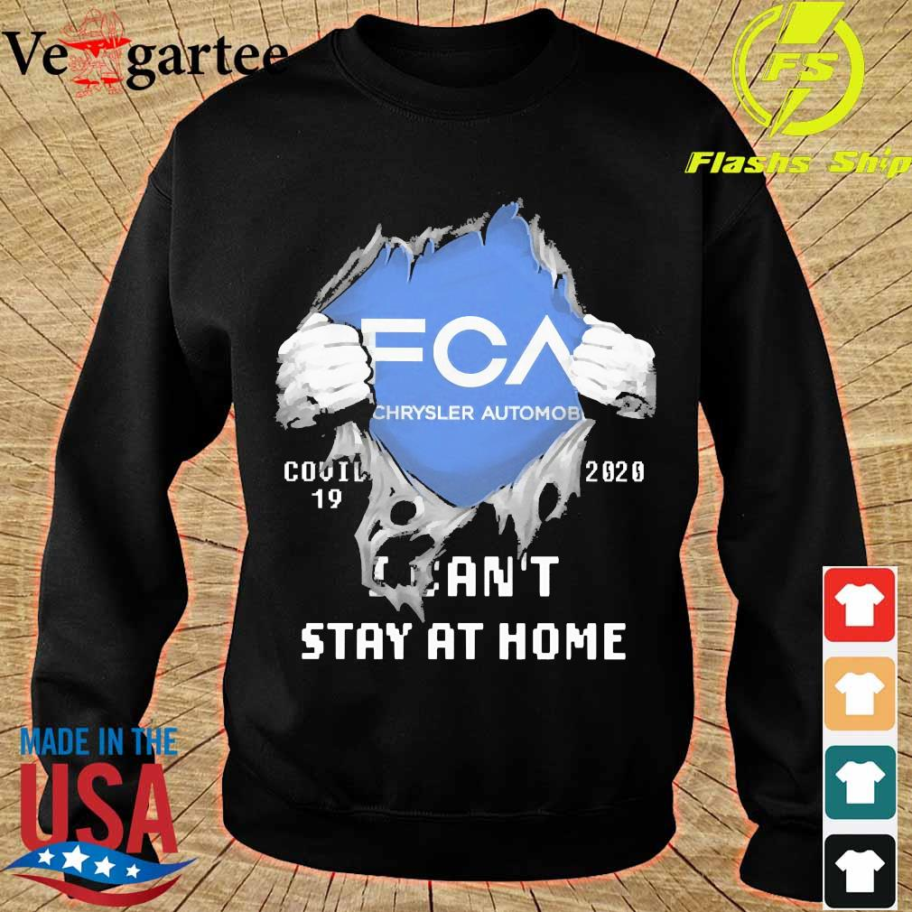 Blood inside me FCA Chrysler Automobile covid-19 2020 I can't stay at home s sweater
