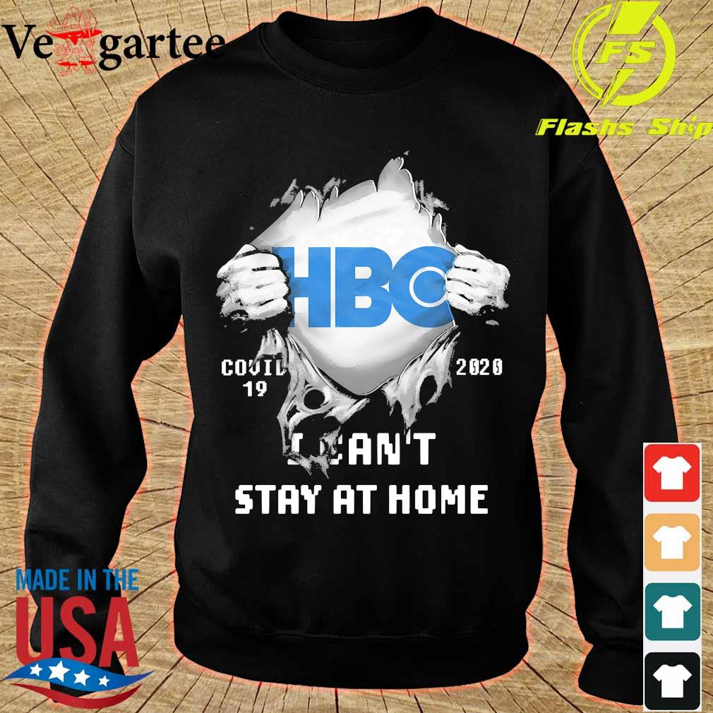 Blood inside me HBO covid-19 2020 I can't stay at home s sweater