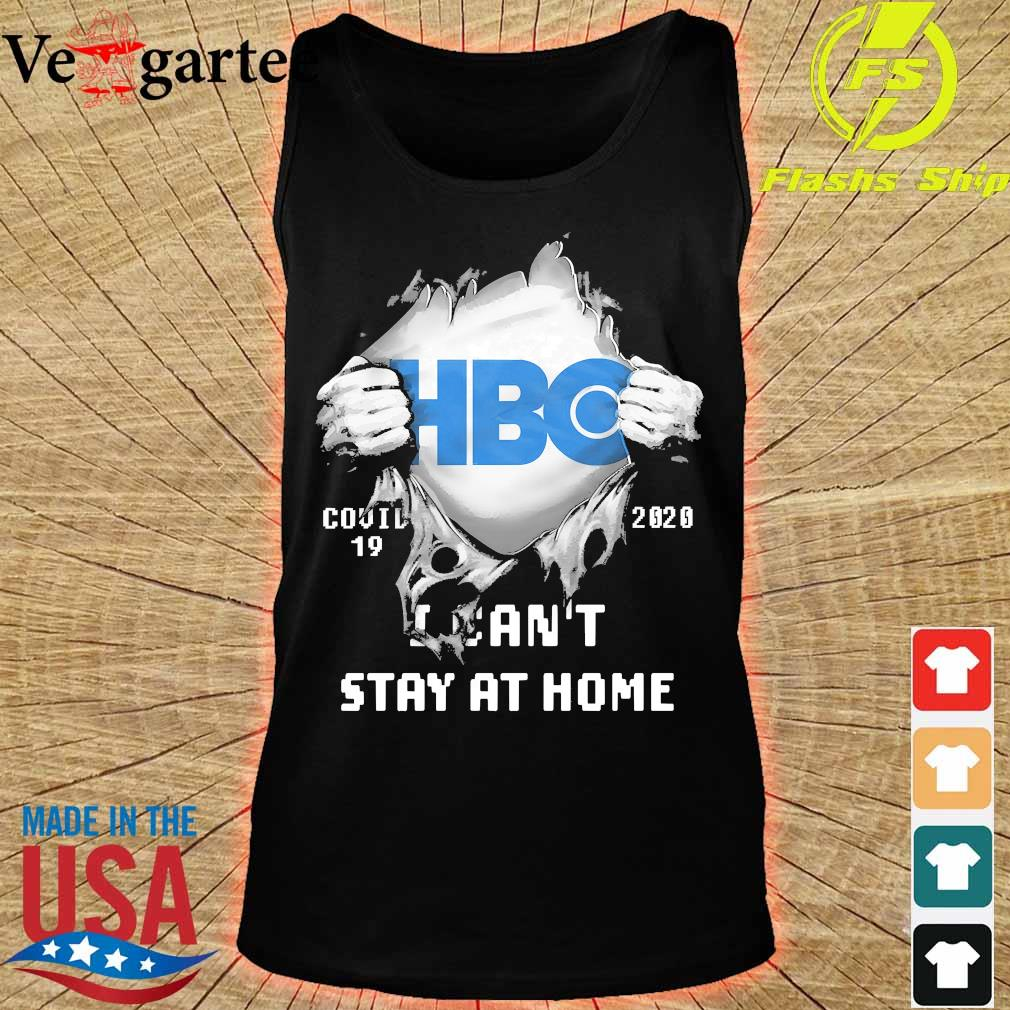Blood inside me HBO covid-19 2020 I can't stay at home s tank top