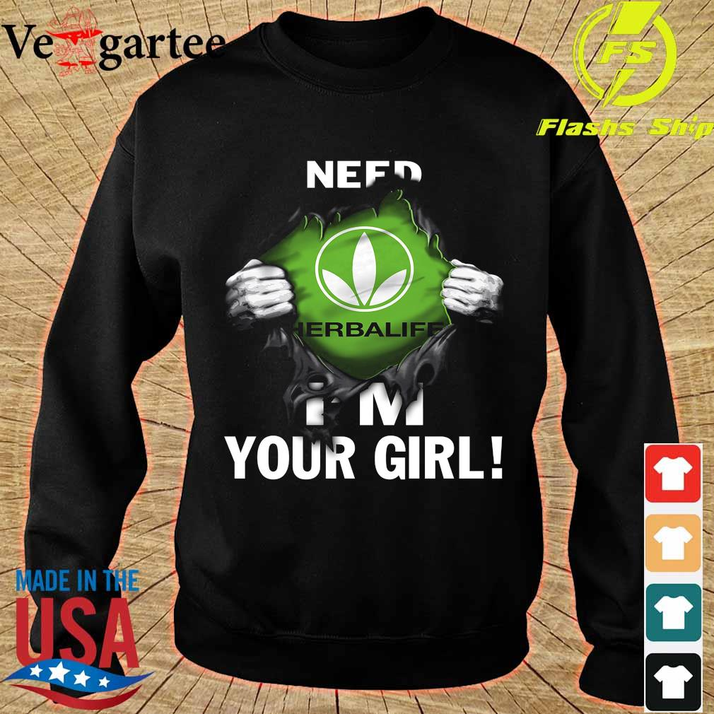 Blood inside me Herbalife need I'm your girl s sweater
