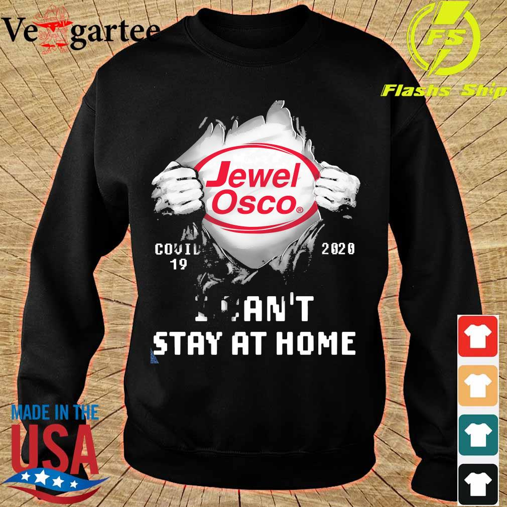 Blood inside me Jewel Osco covid-19 2020 I can't stay at home s sweater