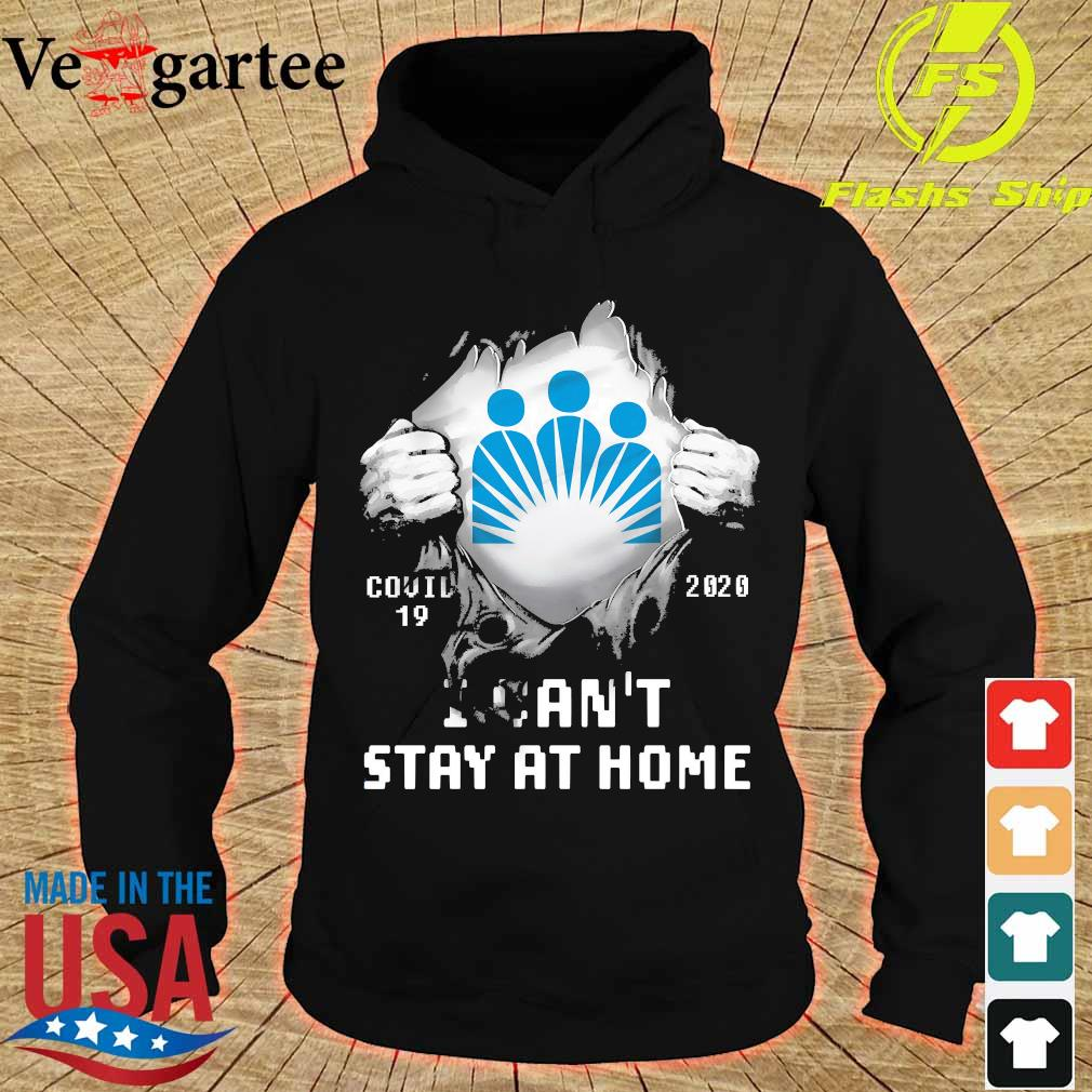 Blood inside me Kaiser Permanente covid-19 2020 I can't stay at home s hoodie