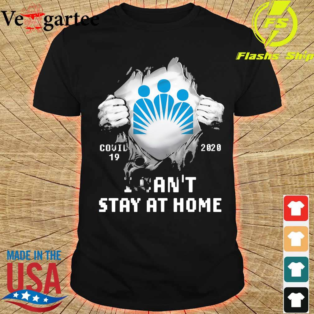 Blood inside me Kaiser Permanente covid-19 2020 I can't stay at home shirt