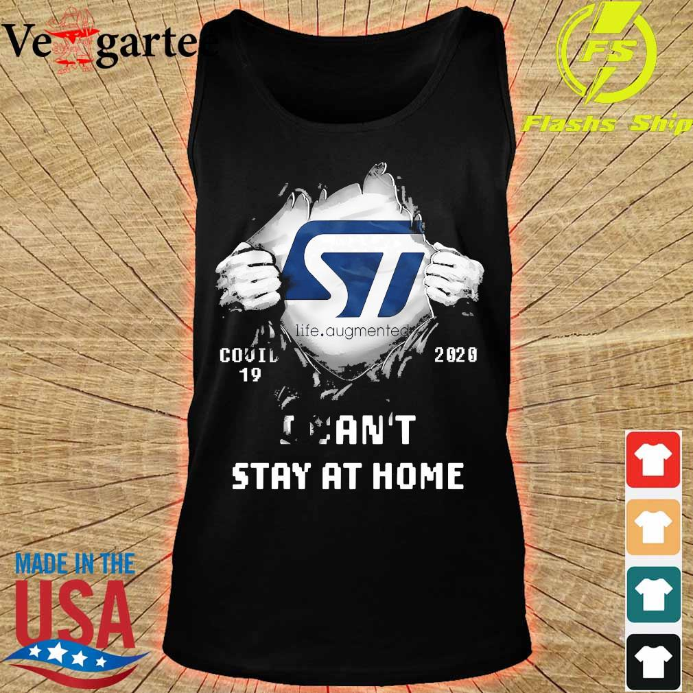 Blood inside me Life Augmented covid-19 2020 I can't stay at home s tank top