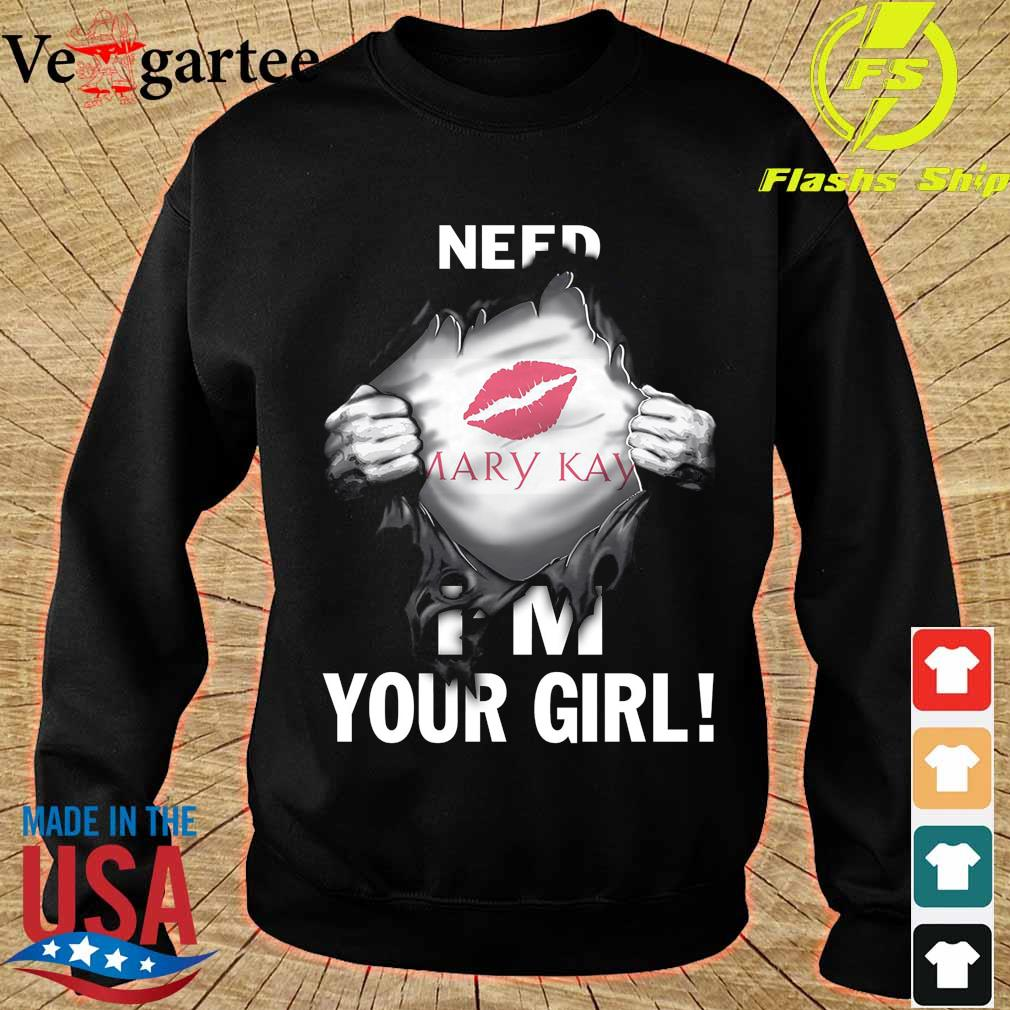 Blood inside me Mary Kay need I'm your girl s sweater
