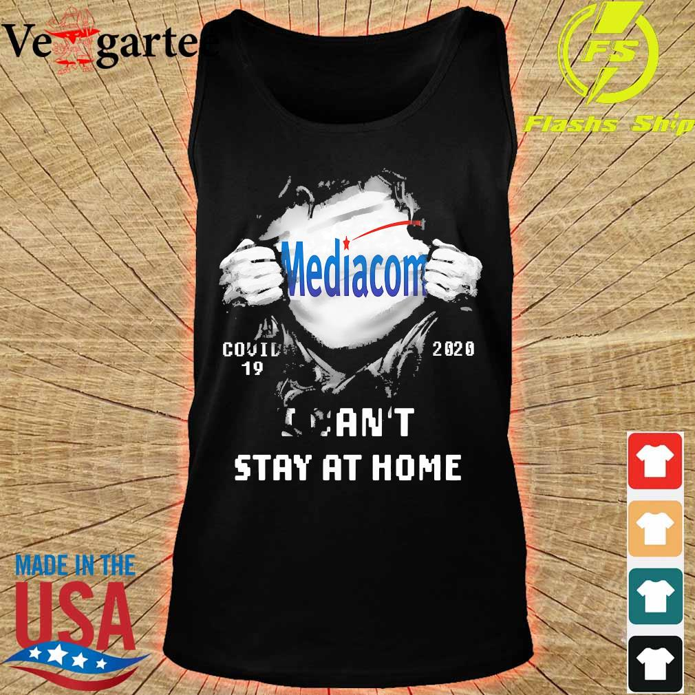 Blood inside me Mediacom covid-19 2020 I can't stay at home s tank top