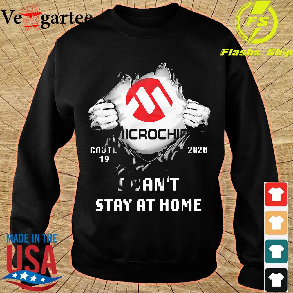 Blood inside me Microchip covid-19 2020 I can't stay at home s sweater